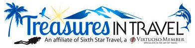 Treasures in Travel, an affiliate of Sixth Star Travel, a Virtuoso member